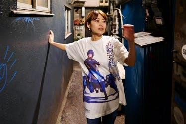 世界に一枚だけのアートTシャツ